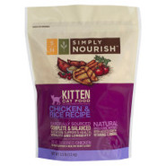 Simply Nourish Chicken &amp; Rice Kitten Food