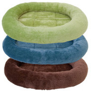 Grreat Choice Plush Bolster Pet Bed