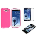 TPU Rubber Case/ Protector/ Stylus for Samsung Gal