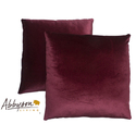 Charisma 18-inch Burgundy Decorative Pillows (Set