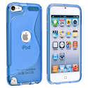 Blue TPU Rubber Skin Case for Apple?? iPod Touch G