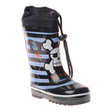 Boys Striped and Pirate Printed Rain boot