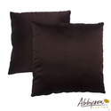 Bliss 18-inch Dark Brown Decorative Pillows (Set o