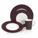 Mikasa Color Studio Brown 4-piece Place Setting