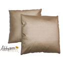Isabella 18-inch Gold Patterned Decorative Pillows