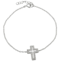 Tressa Sterling Silver Cubic Zirconia Holy Cross B