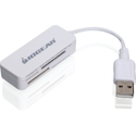 Iogear 12-in-1 USB 2.0 Flash Card Reader/Writer