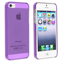 Clear Purple Snap-on Slim Case for Apple?? iPhone 