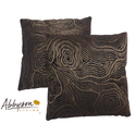 Barclay 18-inch Brown Decorative Pillows (Set of 2