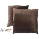 Charisma 18-inch Brown Decorative Pillows (Set of