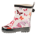Girls' Butterfly Rubber Rain Boots