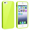 Yellow Jelly TPU Rubber Case for Apple iPhone 5