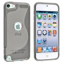 Clear Smoke S Shape TPU Case for Apple iPod Touch