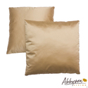 Bliss 18-inch Gold Decorative Pillows (Set of 2)