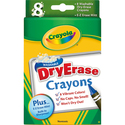 Dry-Erase Crayons (Pack of 8)