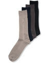 Men's Socks, Ribbed Rayon Dress Men's Socks Single