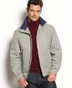Coat, Moto Dobby Zip Front Golf Jacket