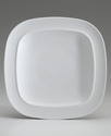 Dinnerware, White Squares Dinner Plate