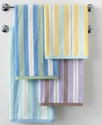 Martha Stewart Collection Bath Towels, Plush Strip
