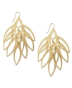 Earrings, Gold-Tone Chandelier Earrings