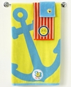 Nickelodeon Bath Towels, Spongebob Set Sail 16   x