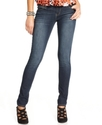 Juniors Jeans, Curvy Pluto Skinny, Dark Wash