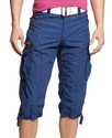 Shorts, Belted Cargo Shorts