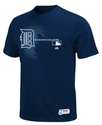 MLB Big and Tall T-Shirt, Authentic Detroit Tigers
