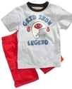 Kids Set, Little Boys 2 Piece T-Shirt and Shorts S
