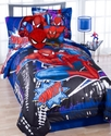 Spiderman 2 Piece Twin Comforter Set Bedding