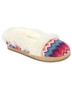 Kids Slippers, Girls Biscotti Faux-Fur Slippers