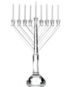 Menorah, Crystal with 44 Candles