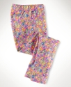 Kids Pants, Little Girls Floral Leggings