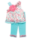 Baby Set, Baby Girls Ruffle Tunic and Leggings