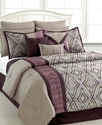 Holden 12 Piece Full Comforter Set Bedding