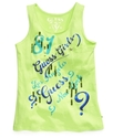 GUESS Kids Shirt, Little Girls Tank Top
