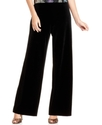 Pants, Wide-Leg Velvet