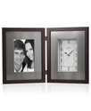 Clock, Wooden Picture Frame B1234