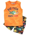 Baby Set, Baby Boy 2-Piece Tank and Boardshort Set