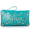 SR Squared by Sondra Roberts Handbag, Laser Cut Wr