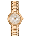 Watch, Women&#39;s Rose Gold-Tone Stainless Steel Brac