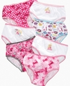Kids Underwear, Girls and Little Girls 7-Pack Pant