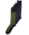 Men&#39;s Socks, Single Pack Spectrum Cross Plaid Men&#39;