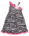 Baby Dress, Baby Girls Zebra Dress