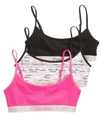 Girls Bras, Girls 3-Pack Crop Bras