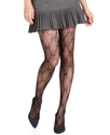 Tights, Fishnet Bow Tights