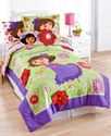 Dora Picnic 3 Piece Full Sheet Set Bedding