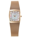 Watch, Women's Rose Gold Plated Stainless Steel Me