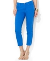Lauren Jeans Co. Jeans, Slimming Cropped Straight-
