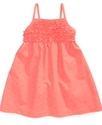 Girls Dress, Little Girls Embroidered Dress